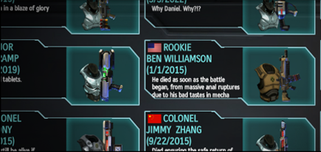 XCOM Memorial Facebook Wall