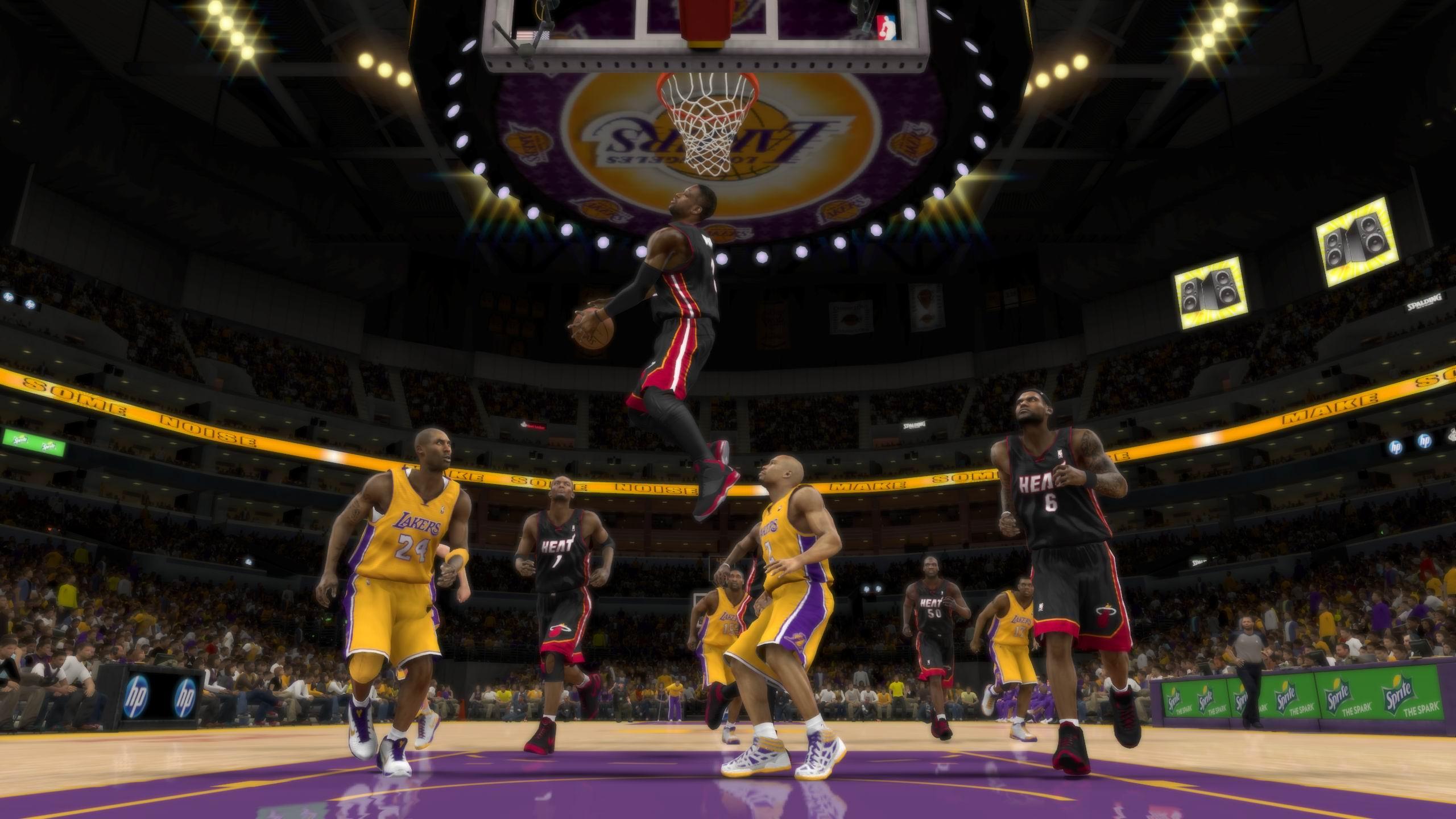 NBA 2K12 продолжает популярную серию виртуального баскетбольного