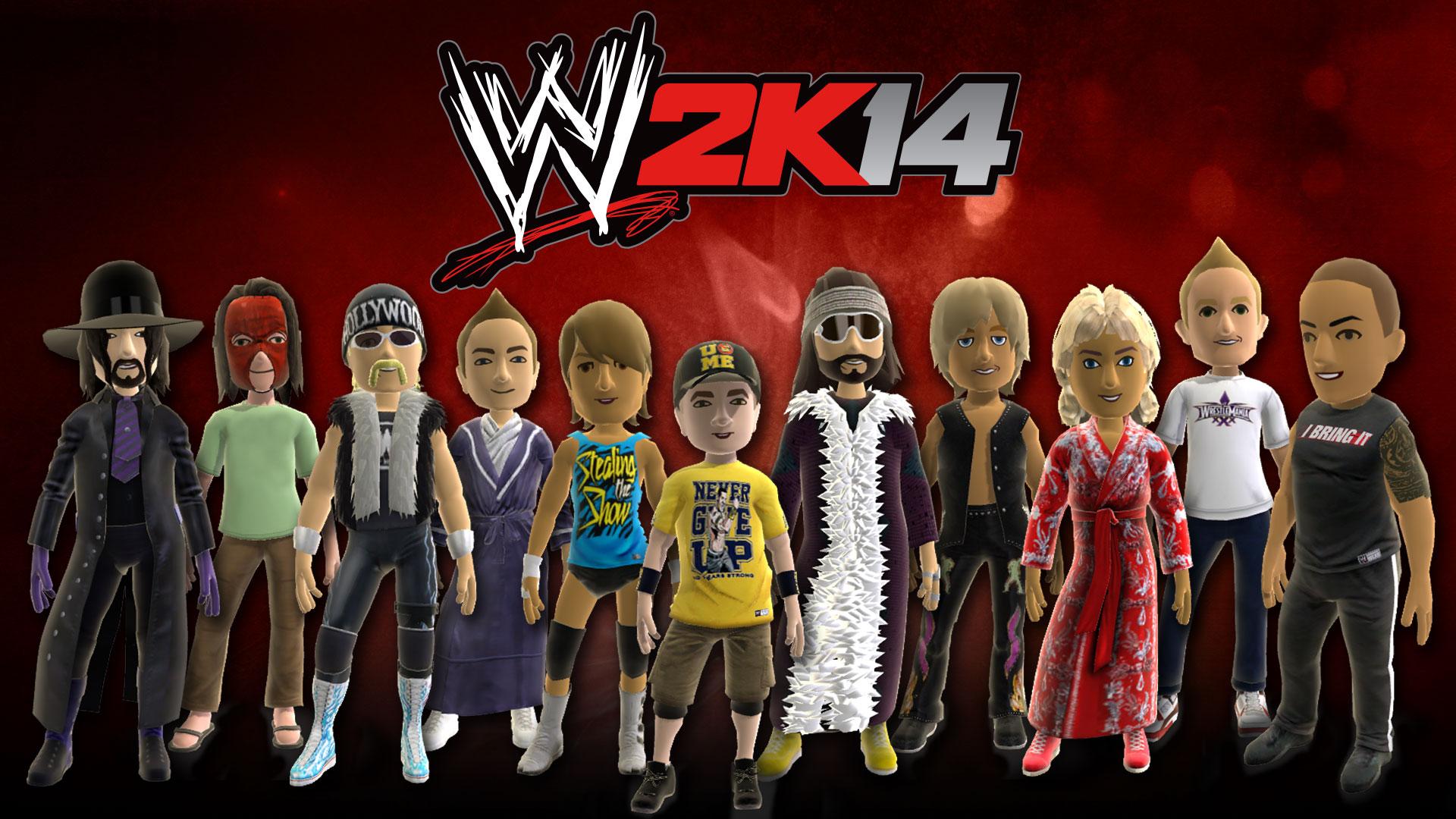 WWE 2K14 Dynamic Theme featuring The Rock, John Cena, Hulk Hogan