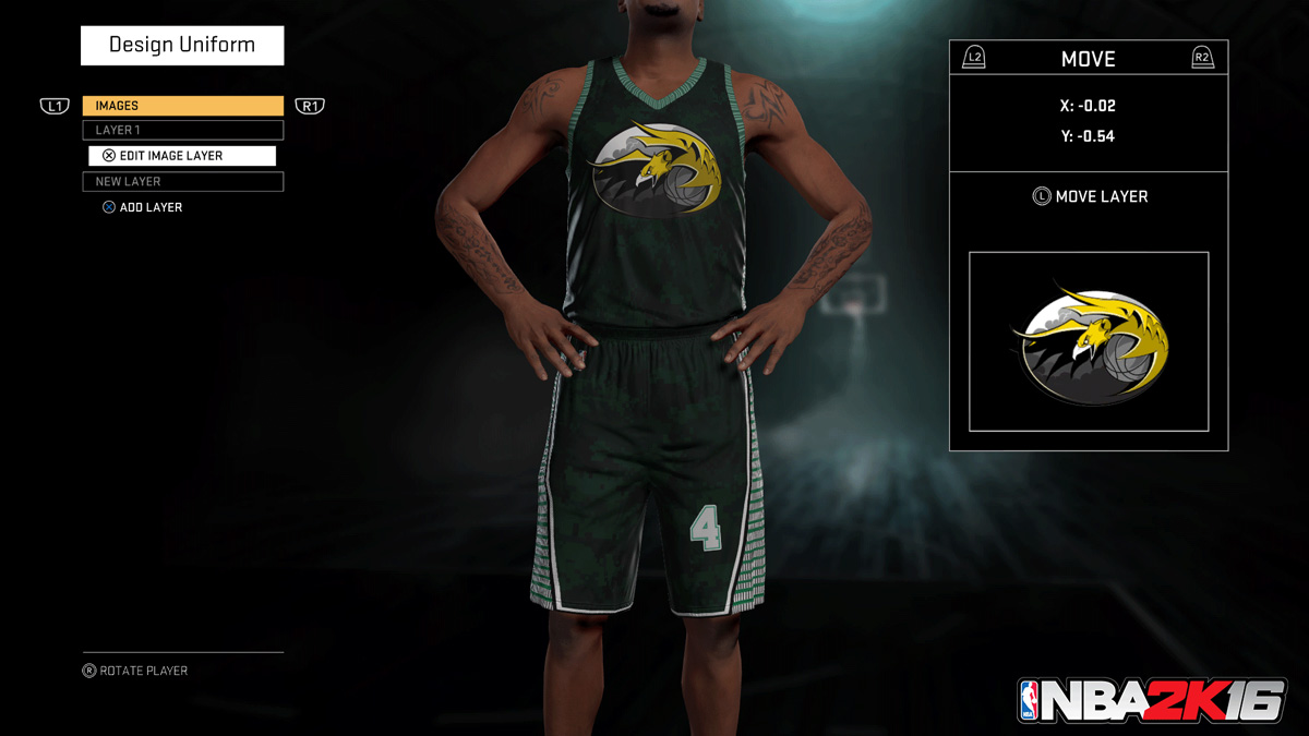 create your own nba jersey