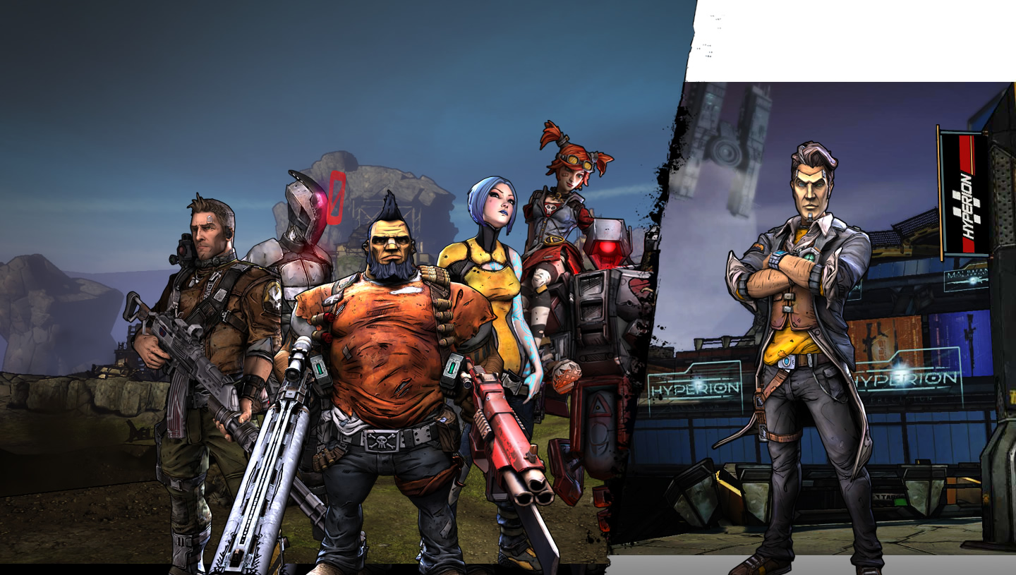 The gallery for --> Borderlands 2 Zero Heads