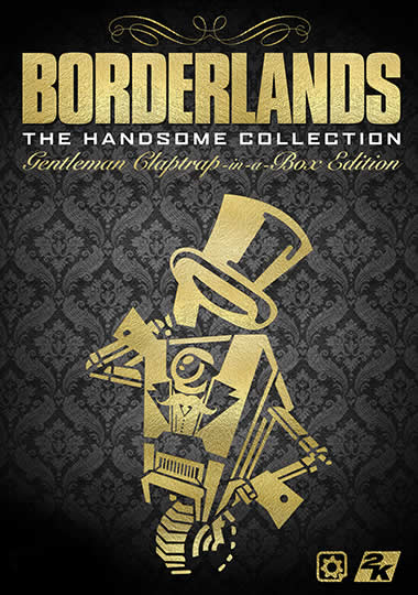 FR - Borderlands: The Handsome Collection – Gentleman Claptrap-in-a-Box