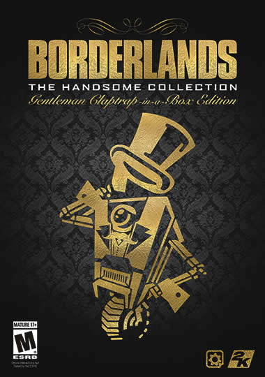 US - Borderlands: The Handsome Collection – Gentleman Claptrap-in-a-Box