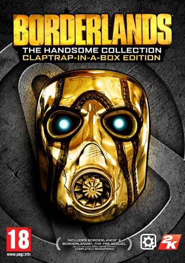 FR - Borderlands: The Handsome Collection – Claptrap-in-a-Box