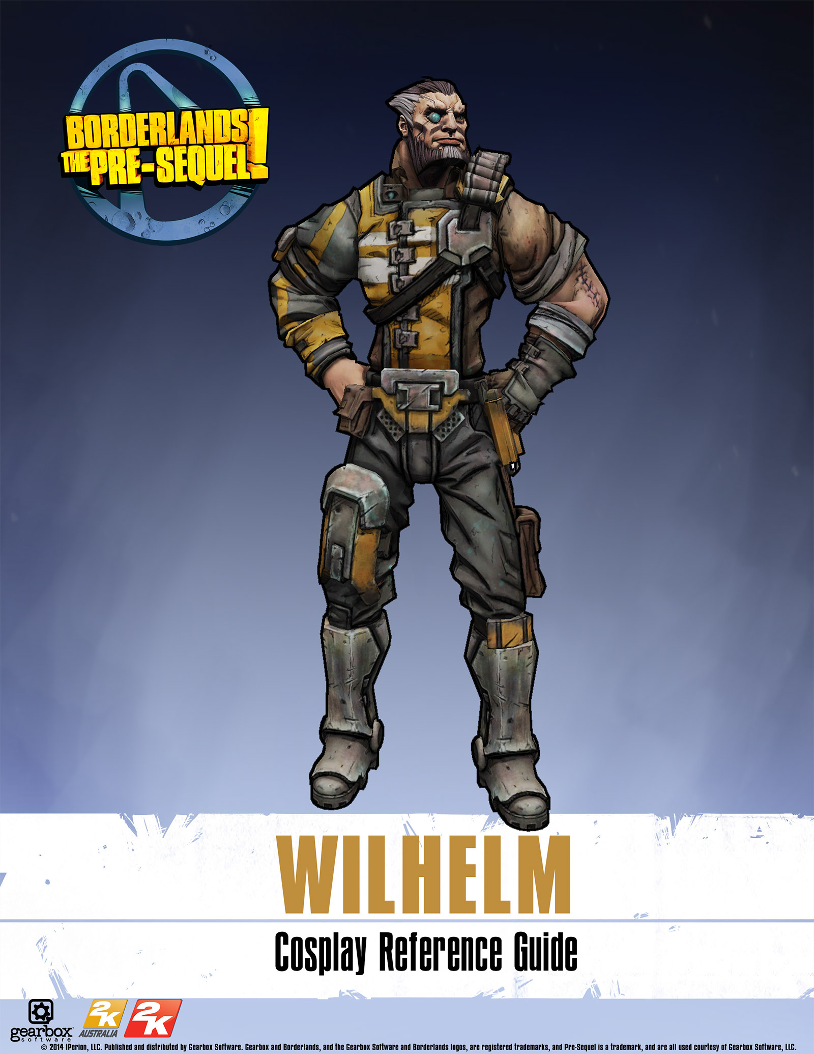 Borderlands: The Pre-Sequel Wilhelm Cosplay Reference Guide