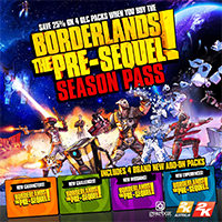 Season Pass Announced for Borderlands: The Pre-Sequel!