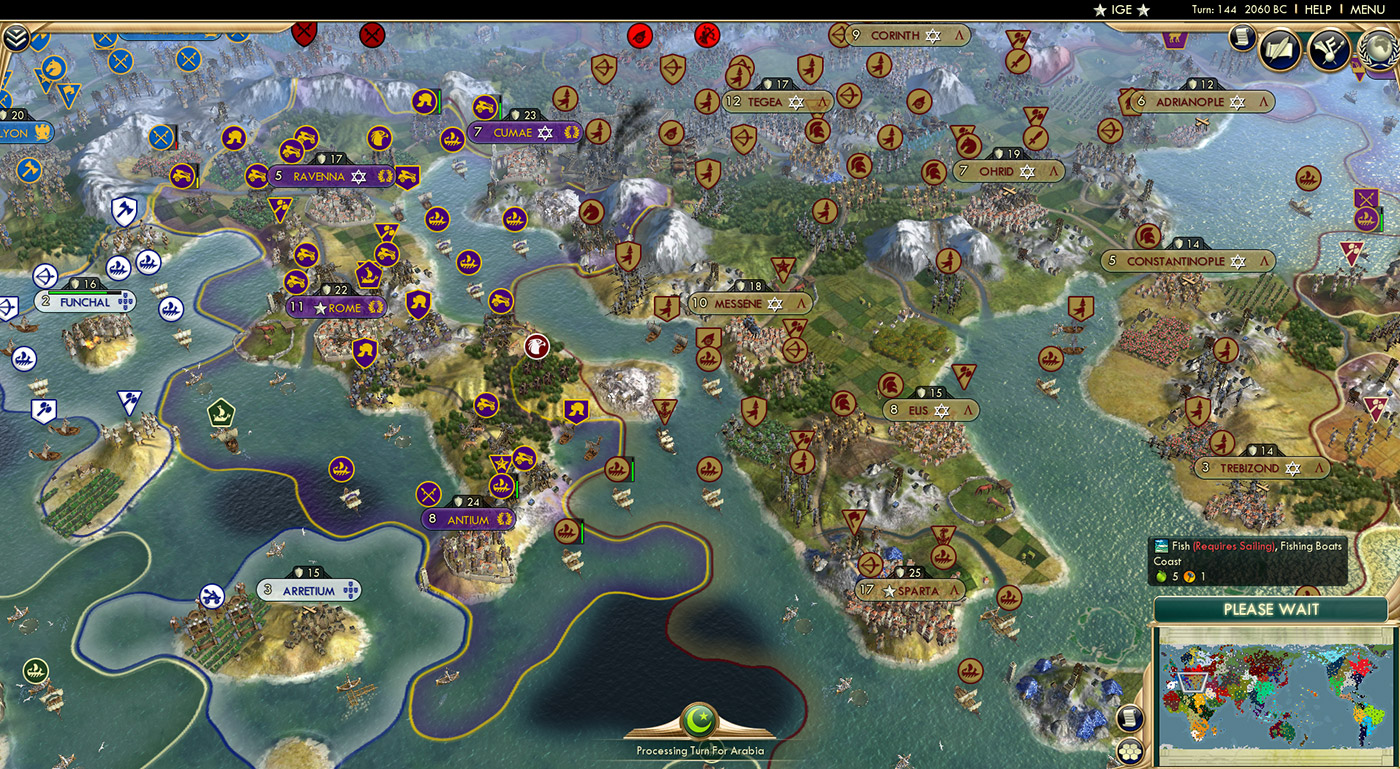 Civilization V | News | The Return of Civilization Battle Royale
