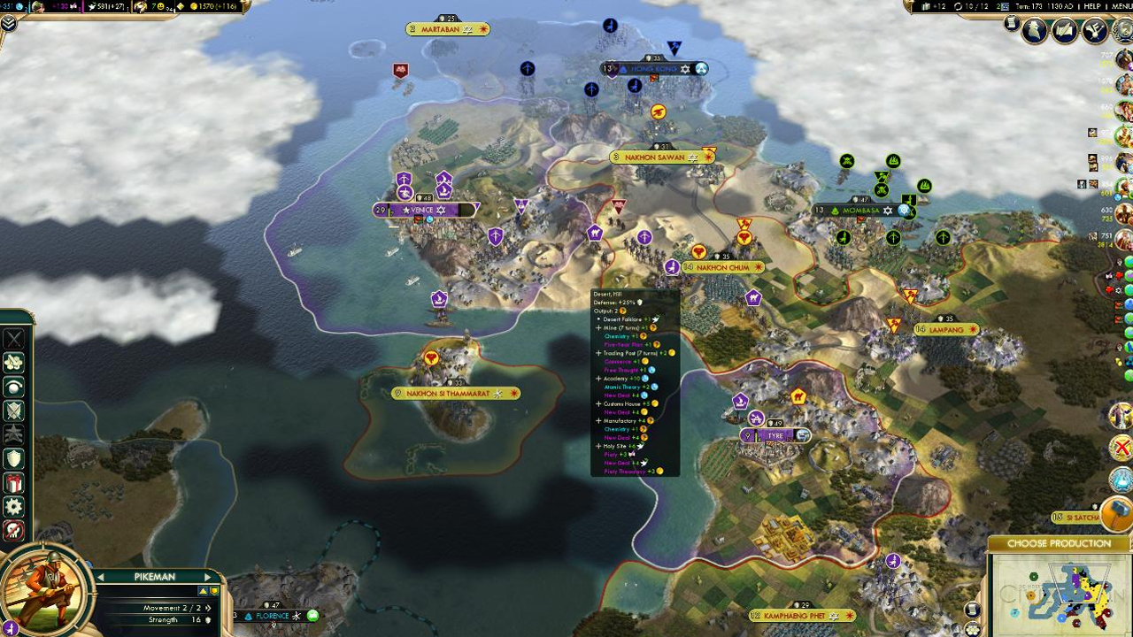 Civilization V | News | FIVE GREAT MODS FOR CIV V