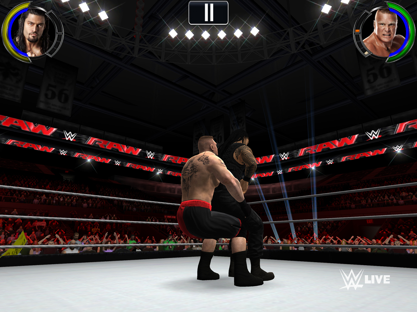 Wrestling Android Games Room