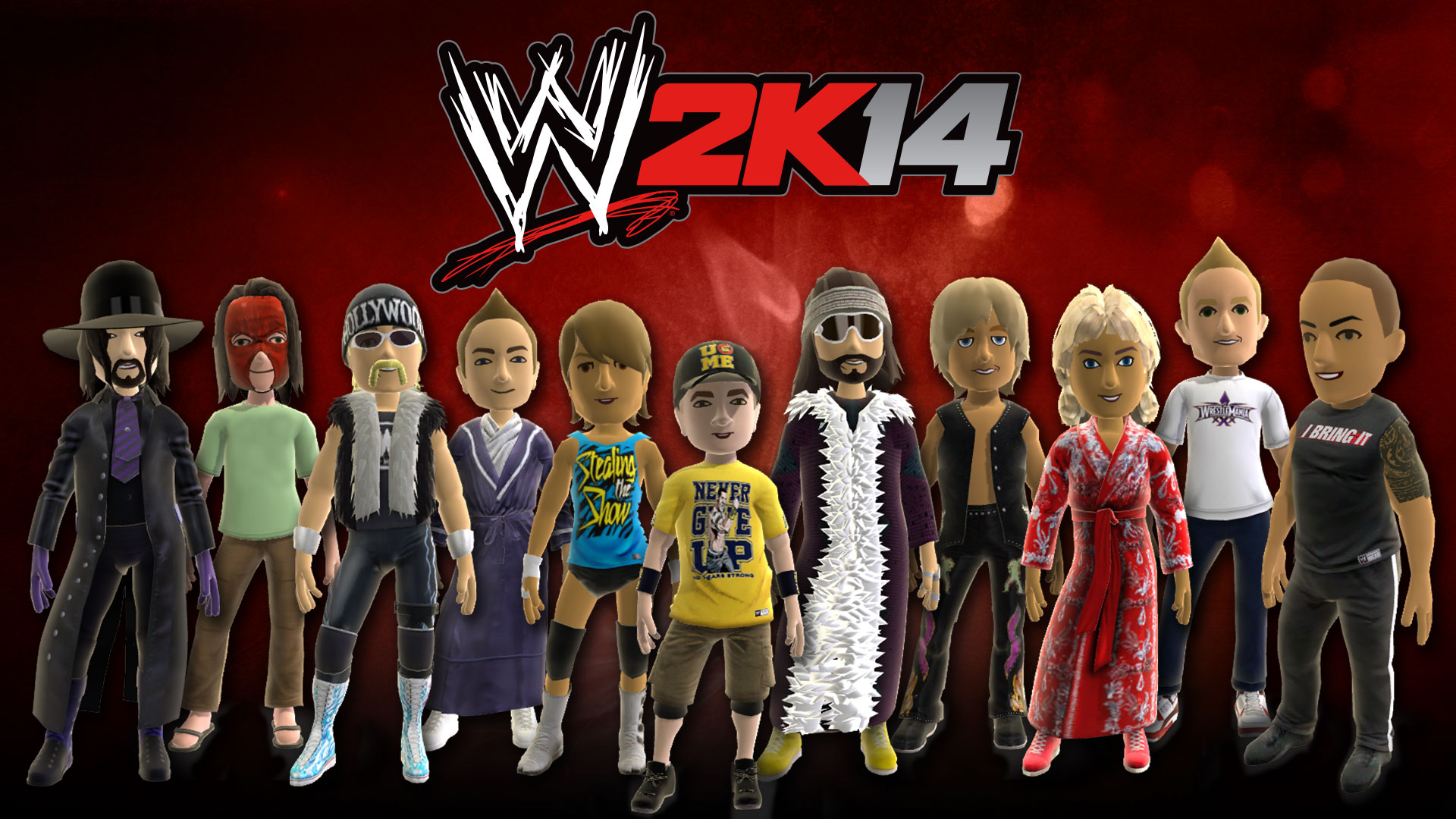 2k announces availability of wwe 2k14 dynamic theme and avatar items