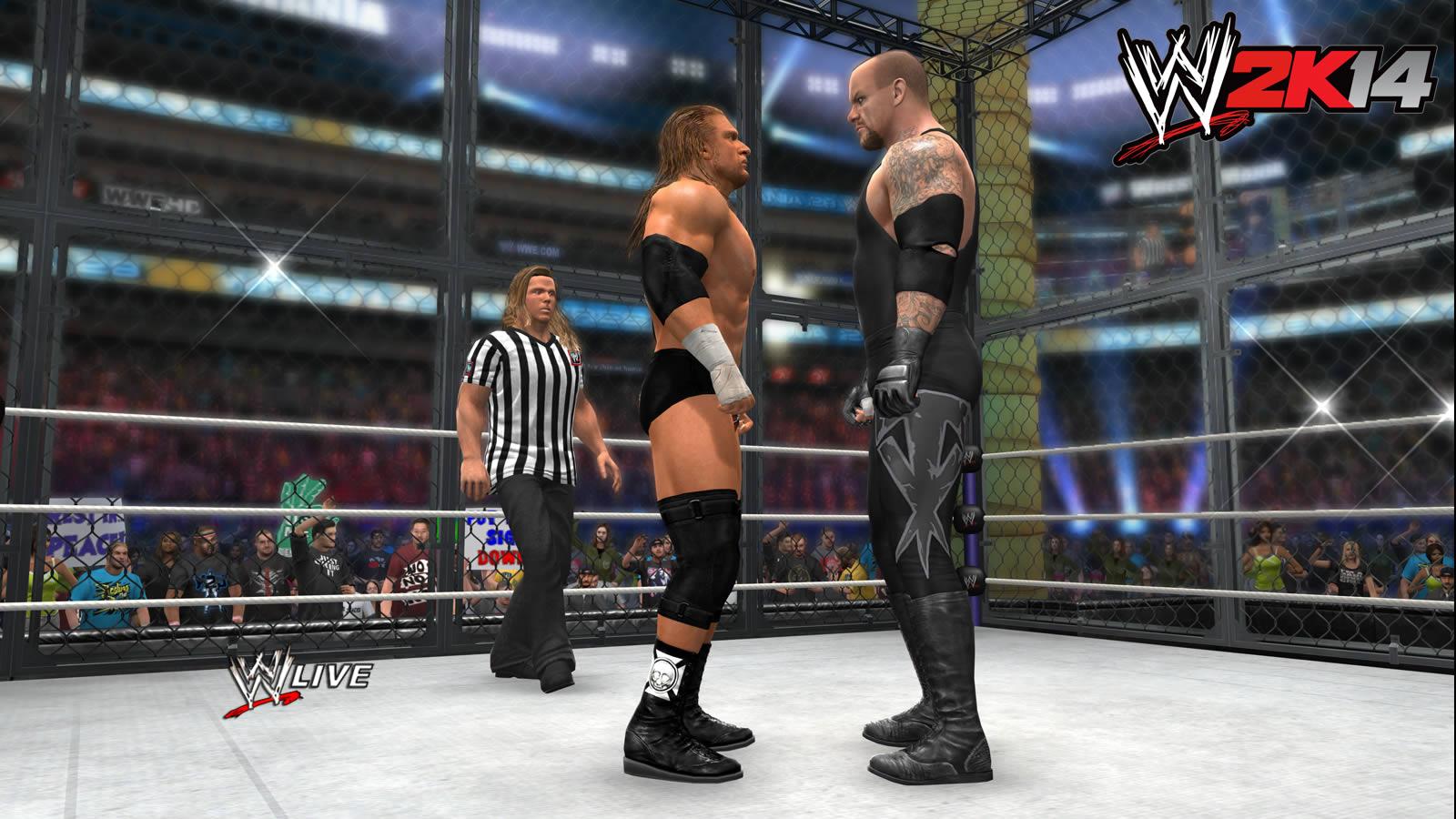 Imagenes WWE 2K14 XBOX 360