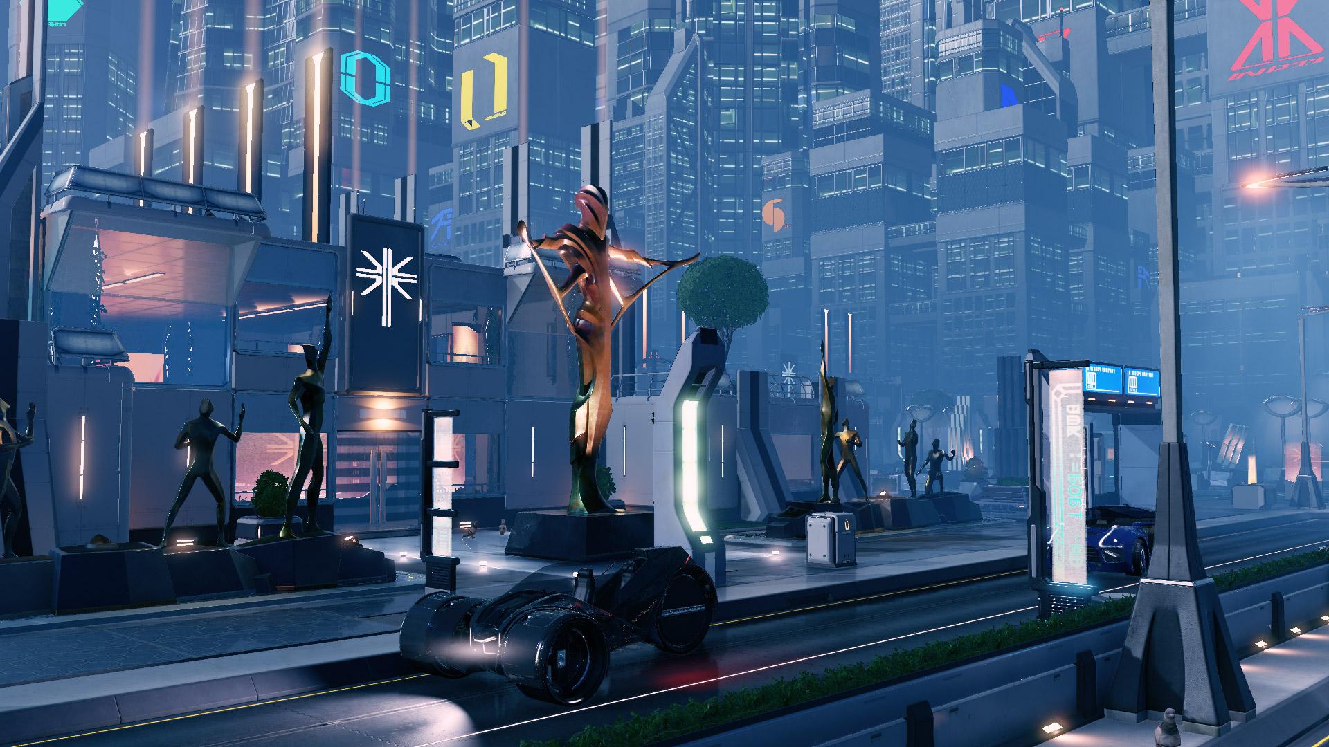 FR - The Environments of XCOM 2: ADVENT City Cente