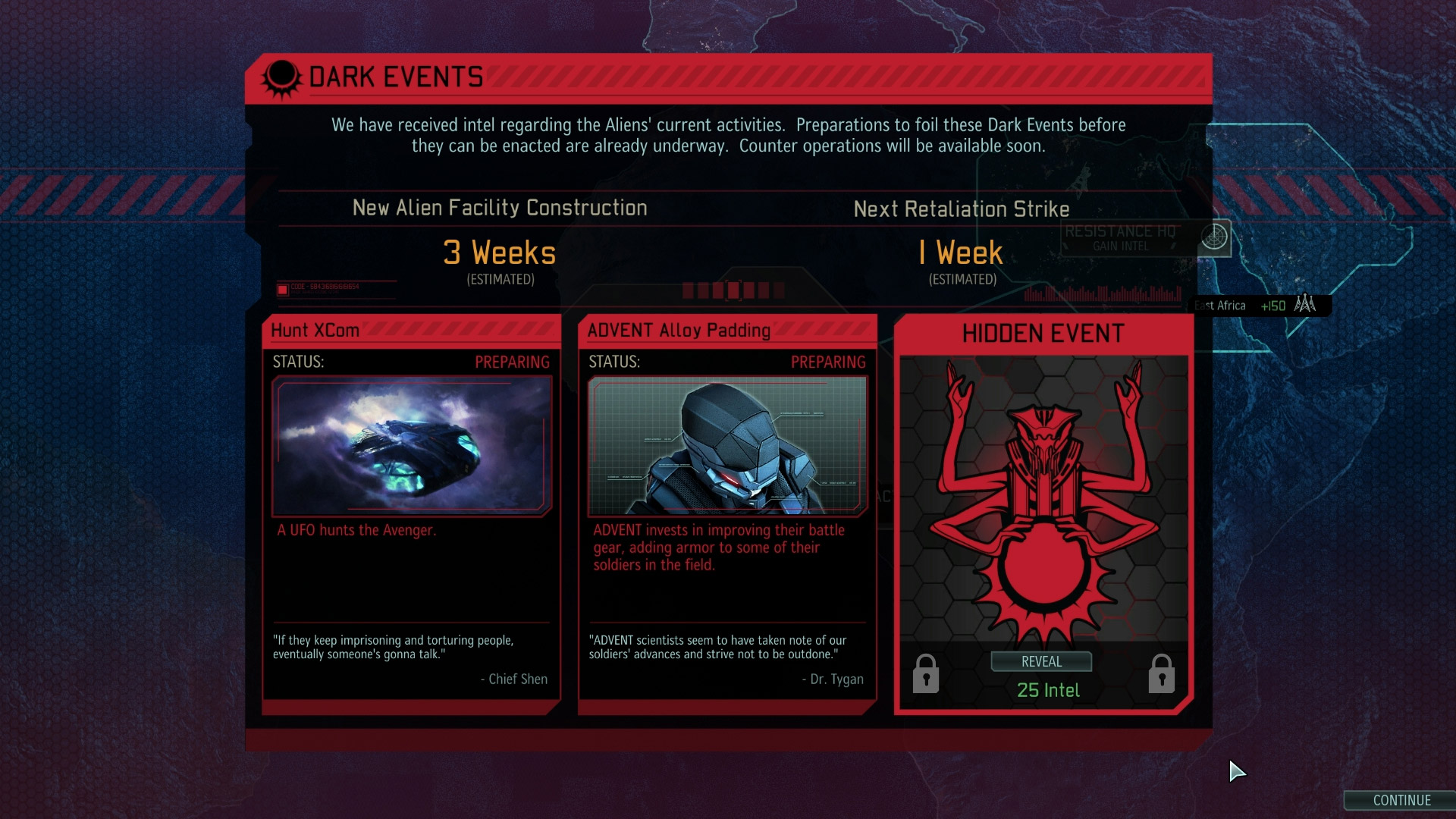 FR - Dark Events: ADVENT Counter-Operations in XCOM